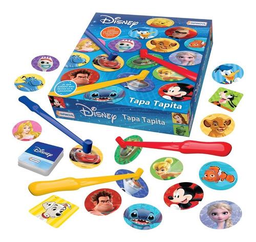 Imagen 1 de 5 de Juego De Mesa Disney Tapa Tapita Juguete Velocidad Visual