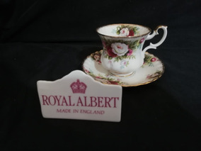 Xícara De Café E Pires Celebration Royal Albert England