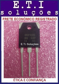 Irgp4086 Sem Marca De Solda, Já Incluso C/ Taxa De 5 Reais