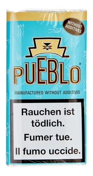Pack X10 Pueblo Tabaco Original O Blue Azul Virginia Pueblo