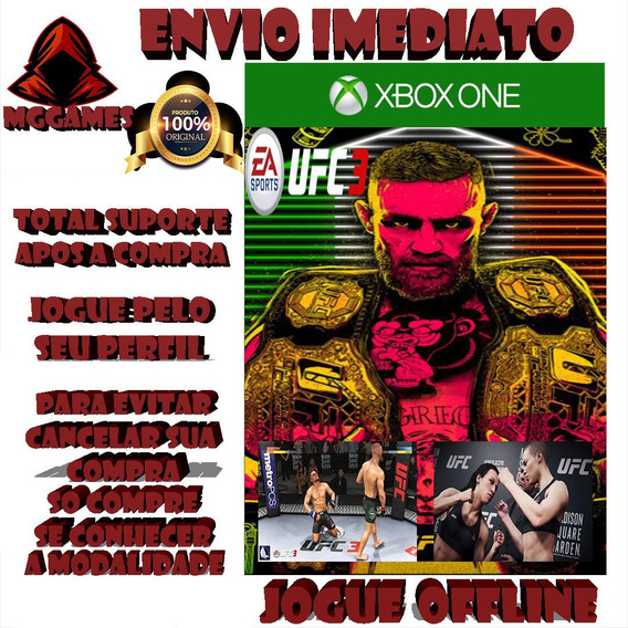 Ufc 3 Xbox One Midia Digtal#1