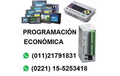 Programador De Plc Y Pantallas Hmi Tableros Instalaciones