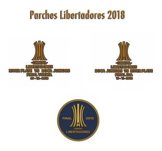 Parches Copa Libertadores 2018 Final Boca River !