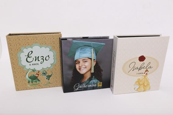Álbum Fichário Personalizado Para 200 Fotos 10x15 Ou 100 Fotos 15x21