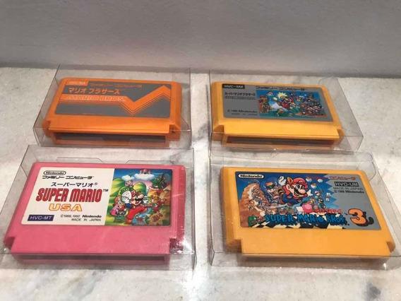 Lote Mario - Famicom - Originais