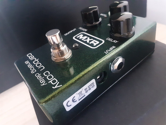Pedal Mxr Carbon Copy Analog Delay