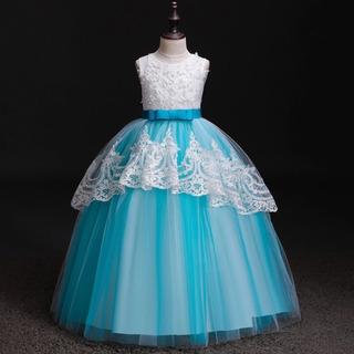 comprar mejor envio GRATIS a todo el mundo Vestido De Princesa Turquesa Para Niña en Mercado Libre Perú