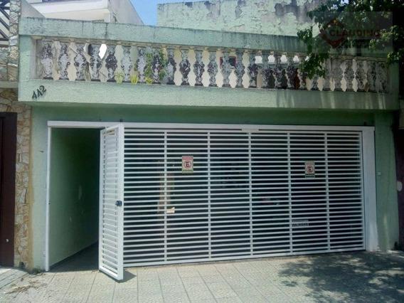Sobrado Com 3 Dormitórios À Venda, 250 M² Por R$ 700.000 - Jardim Arize - São Paulo/sp - So1096