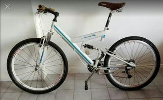 Excelente Bicicleta Doble Suspension, 21 Cbios, Todo Shimano
