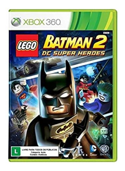 Lego Batman 2 Xbox 360 Mídia Digital, Bônus Lego Vingadores