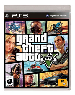Juego Grand Theft Auto V Ps3 Ibushak Gaming