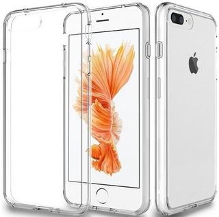 Capa iPhone 7plus Flexível Protetora Antichoque De Silicone
