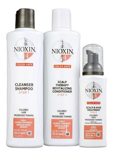 Nioxin 4 Sh 300ml+cd 300ml+treatment 100ml