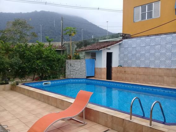 Lindissíma Casa Com Picina A Venda Em Mongaguá Ref-450