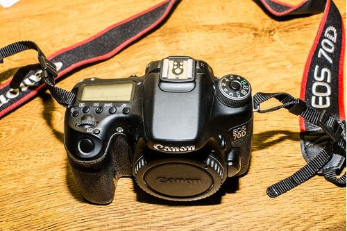 Canon 70d Corpo / Com 25 Mil Cliks