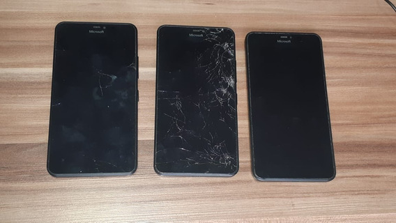 3 Aps Lumia 1065 Com Defeito (sucata Para Retirar Peças)