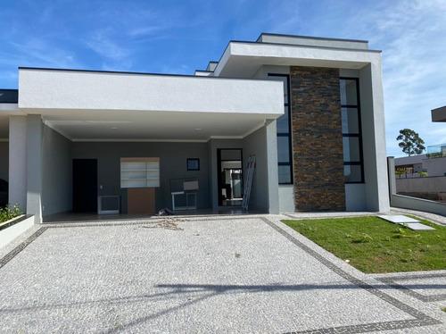 Imagem 1 de 14 de Casa A Venda Em Condomínio Fechado De Paulínia Centro