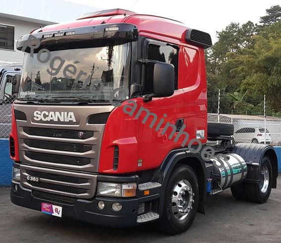 Scania G 380 2010,unico Dono,rogerio Caminhoes