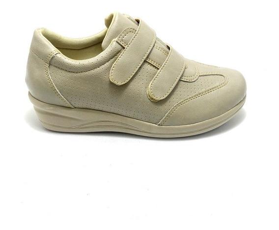 Tenis Sapato Feminino Anti Stress Ortopedico Confort Enferm