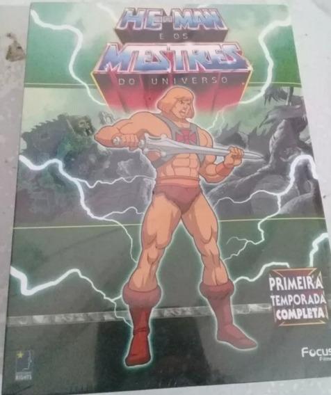 Box : He-man Os Mestres Do Universo 1ª Temp Completa 12 Dvds