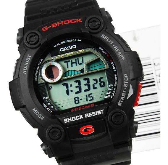 Relogio Digita G-shock G7900 Alarmes Marés Fases Da Lua Orig