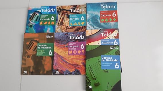 Kit C/ 5 Livros Projeto Teláris 6º Ano - 2ª Ed.- 2015