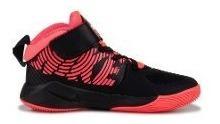 Tenis Nike Team Hustle D9 Negro Rosa 16.5-22 As Originales