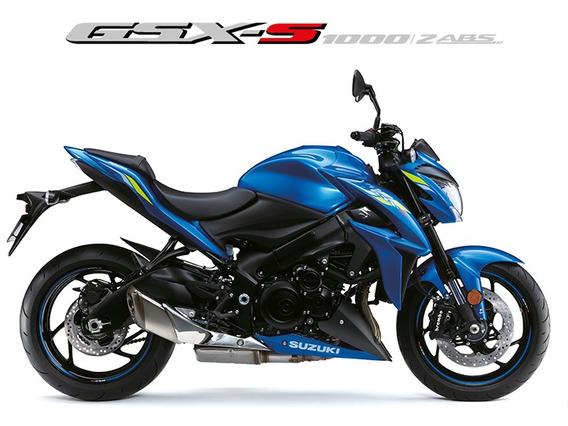 Suzuki Gsx-s 1000az 2019/2020 Azul - 0km