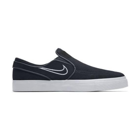 Tênis Nike Sb Zoom Stefan Janoski Slip - Black/white