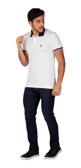 Camisa Polo Regular Polo Wear Masculina 35512