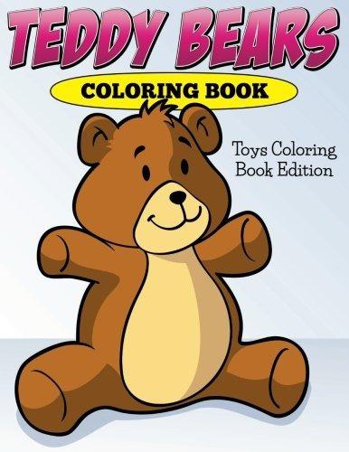Osos De Peluche Libro Para Colorear Juguetes Edición Libro