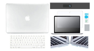 Kit Carcasa Case Español 5 En 1 Macbook Air Pro Retina Touch