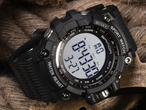 Relógio Masculino Esportivo Militar Marca Sanda Top