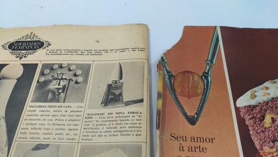 Revista Capricho Antiga 172 1966 Lages Sc