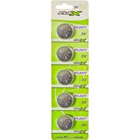 Bateria Moeda Cr 2032 Flexgold 3v Lithium Cartela C/ 5pç