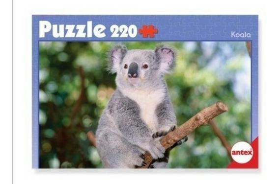 Puzzle Koala 220 Pz Antex - Colores En Fuga Kids