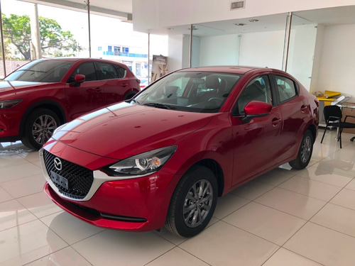 Mazda 2 Touring At 1.5 2022 Rojo Diamante