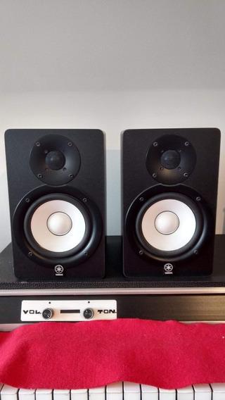 Par De Monitores De Áudio Hs50m - Yamaha Em Excelente Estado!
