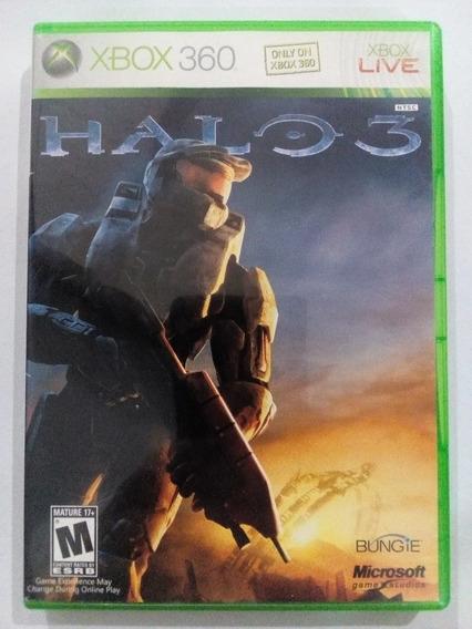 Halo 3 Xbox 360 Original Midia Fisica Nacional