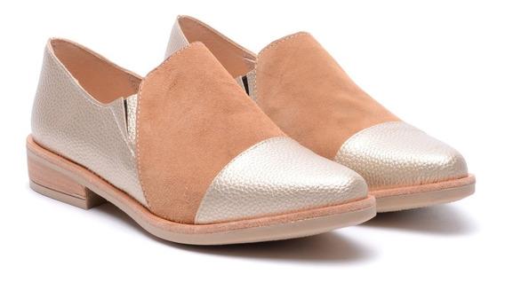 Zapatos Mujer Charritos Texanas Combinadas Charol Bajos Mocasin Botas Heben Calzados