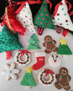 Galletitas Para Año Nuevo Y Navidad. Mesa Dulce Original