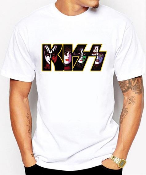 Camisetas Comodas Rock Kiss Ropa Barata