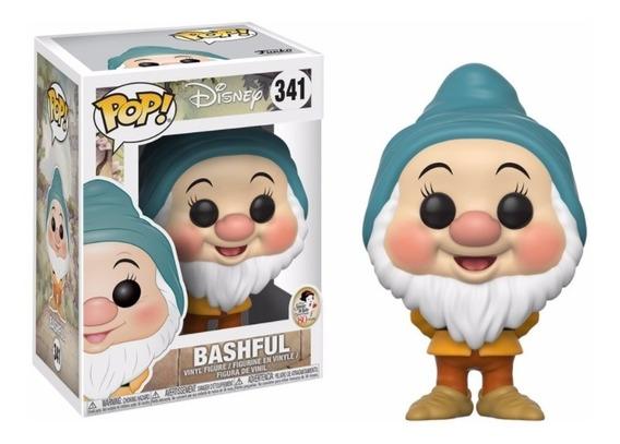 Boneco Pop Funko Disney Branca De Neve Anão Timido Bashful
