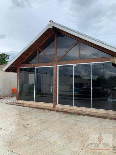 Chácara Com 5 Dormitórios À Venda, 1292 M² Por R$ 900.000,00 - Colina Nova Boituva - Boituva/sp - Ch0637