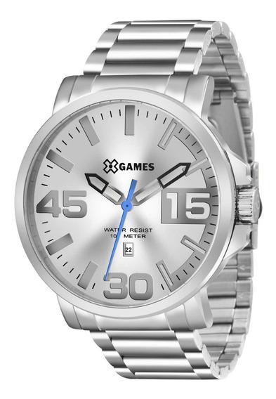 Relógio X-games Prateado Xmss1035 S2sx Original Nf