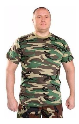 Remera Militar Rusa Camuflada. Importada. Oferta !!!
