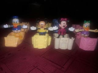 Casas De Mickey Y Sus Amigos,coleccion Completa De Mcdonalds