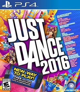 Jogo Ps4 Just Dance 2016- Lacrado Game Ps4