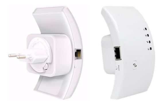 Repetidor De Sinal Wifi Wireless Expansor Roteador 300mbps