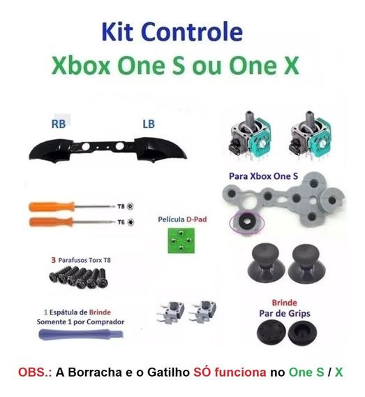 Kit Reparo Controle Xbox One S - Tenho Frete Barato Me Peça